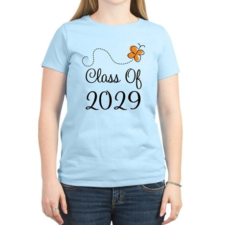 Class of 2029 Butterfly Women's Light T-Shirt