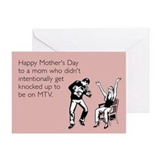 MTV Teen Pregnant Greeting Card