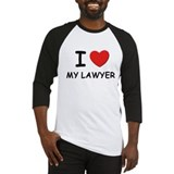 I love lawyers Baseball Jersey