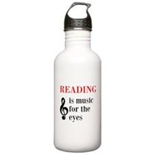 Music For The Eyes Water Bottle