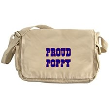 Proud Poppy Messenger Bag