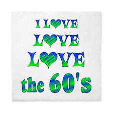 Love Love 60s Queen Duvet