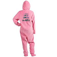 Love Love 60s Footed Pajamas