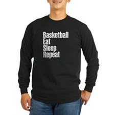 basketball Eat Sleep Repeat Long Sleeve T-Shirt