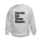 Soccer Eat Sleep Repeat Sweatshirt
