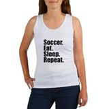 Soccer Eat Sleep Repeat Tank Top