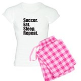 Soccer Eat Sleep Repeat Pajamas