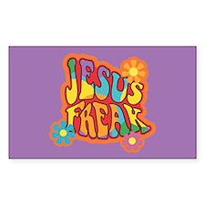 Jesus Freak Rectangle Decal