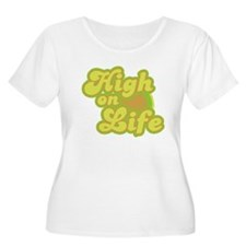 High on Life Plus Size T-Shirt