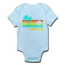 Retro Vintage California Body Suit