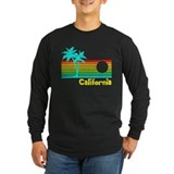 Retro Vintage California Long Sleeve T-Shirt