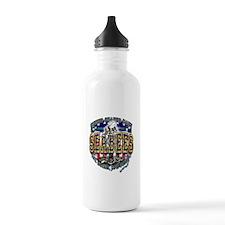 US Navy Seabees Shield Water Bottle
