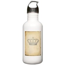 Vintage Royal Crown Water Bottle