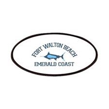 Fort Walton Beach - Fishing Design. Patches