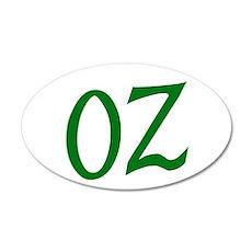 OZ in Green Wall Decal