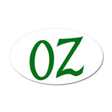 OZ in Green Wall Decal