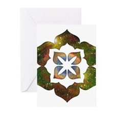 Cosmic Flower Greeting Cards (Pk of 10)