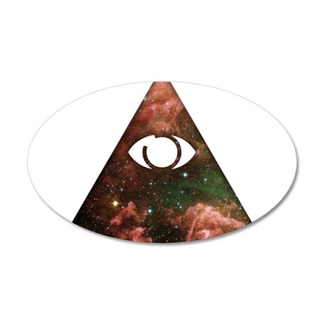 All Seeing - Cosmic Wall Decal