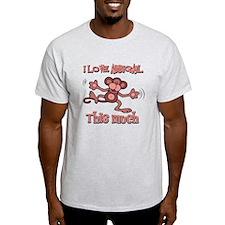 I love Abbigail this much T-Shirt