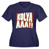 Kolyaaaa! Plus Size T-Shirt