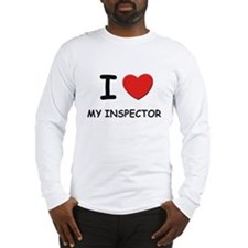 I love inspectors Long Sleeve T-Shirt