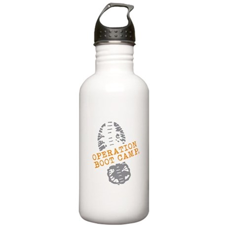 Operation Boot Camp Color Logo Water Bottle