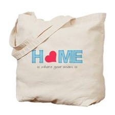 Home is where your mom is (light) Tote Bag