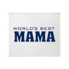 WorldsBestMama Throw Blanket