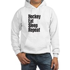 Hockey Eat Sleep Repeat Hoodie