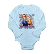 Rosie The Riveter Sarcoidosis Body Suit