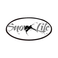 Snow Life (White) Boarder Patch