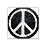Original Vintage Peace Sign Rectangle Sticker