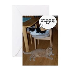 Cat Humor Greeting Card