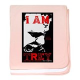 I am Trey Tshirt baby blanket