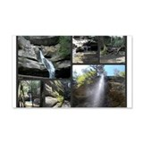 Waterfalls Caves Collage, Ohio Wall Decal