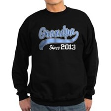 Grandpa Since 2013 Sweatshirt