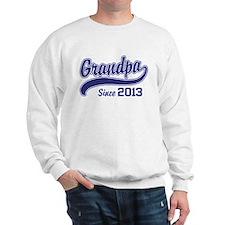 Grandpa Since 2013 Sweatshirt
