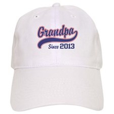Grandpa Since 2013 Baseball Cap