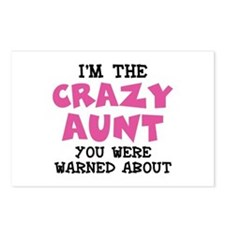 Crazy Aunt Postcards (Package of 8)