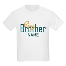 Add Name Big brother Print T-Shirt