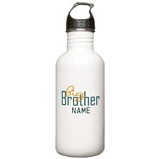 Add Name Big brother Print Water Bottle