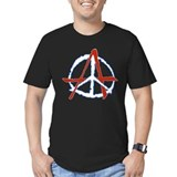 Peace Through Anarchy 2 Black T-Shirt