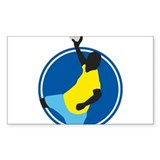 handball player Decal