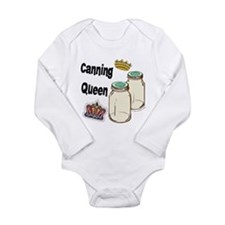 Canning Queen Long Sleeve Infant Bodysuit