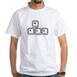 Gamer Keys Tee (white)