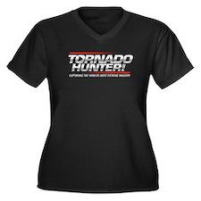 Tornado Hunter Logo Plus Size T-Shirt