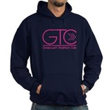 GTC Dark Pink Logo Hoodie