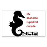 My Seahorse is Parked Outside Decal