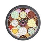Cookies Wall Clock