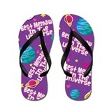 Best Memaw in the Universe Flip Flops